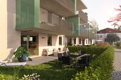 Attraktive Gartenwohnung mit 84m²