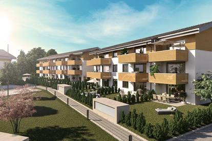 3 Zimmer Wohnung mit Garten & Terrasse