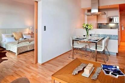 Wohnen im 4**** Hotel: Exklusive Eigentumswohnung (56m²) mit Terrasse neben der Therme Loipersdorf! Provisionsfrei!