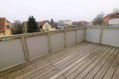 Moderne Mietwohnung (53m²) mit Lift und großzügigen Balkon in zentraler Lage in Fürstenfeld!