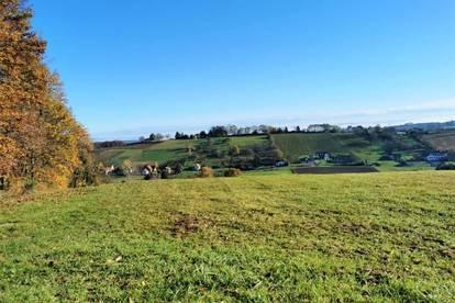 Sonnig gelegenes Grundstück (7.565m²) mit Traumausblick in Stadtbergen - Nähe Fürstenfeld!
