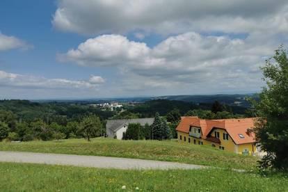 Schöner Baugrund (904m²) mit Ausblick in Stegersbach!