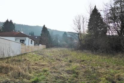 Baugrundstück in guter Siedlungslage