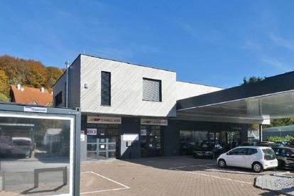 Barrieresfreies Geschäftslokal an der B1 in Gablitz