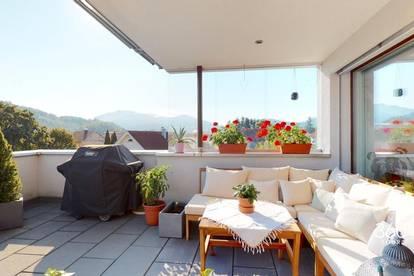 Traumhafte 3-Zimmer-Dachgeschosswohnung in Mäder zu vermieten!