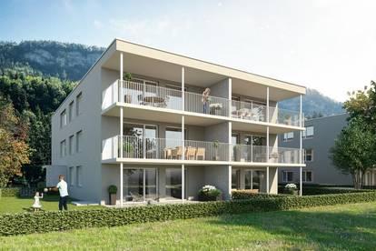 Tolle Gartenwohnung in Feldkirch