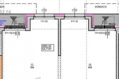 Barrierefreie, belagsfertige Neubau-Ordinationen / -Büros in Bestlage - Fertigstellung ca. Ende 2020