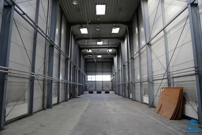 Halle mit bis zu 10 m Raumhöhe