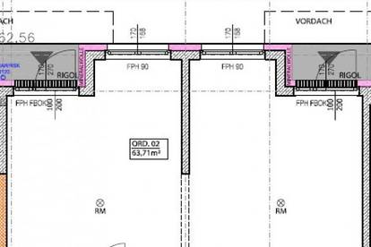 Neubau-Labor / -Ordination / -Büro in Toplage nahe Landesklinikum - individuell gestaltbar