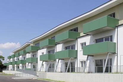 Ernsthofen. Geförderte 3 Zimmer Wohnung | Garten | Miete mit Kaufrecht.