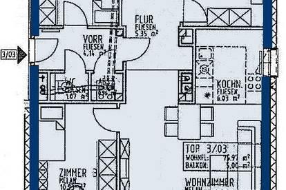 Rainfeld. geförderte 3 Zimmer | Balkon | Miete mit Kaufrecht.