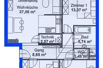 Schönbühel/Donau. Geförderte 4 Zimmer Wohnung | Balkon | Miete.