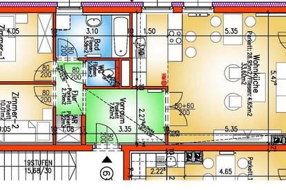 Hainburg/Donau. Geförderte 3 Zimmer Wohnung   Loggia   Miete mit Kaufrecht.