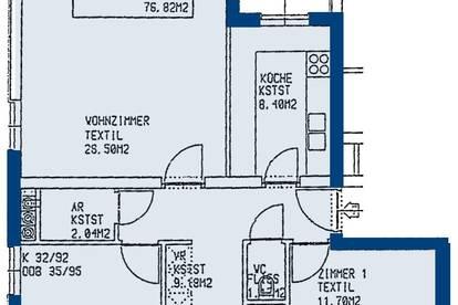 Hadersdorf. geförderte 3 Zimmer Wohnung | Miete mit Kaufrecht.