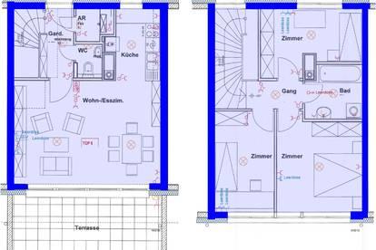 Grafenegg-Etsdorf. Geförderte 4 Zimmer Wohnung | Garten | Miete mit Kaufrecht.