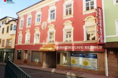 Wohn- u. Geschäftshaus für Errichtung von Eigentumswohnungen geeignet