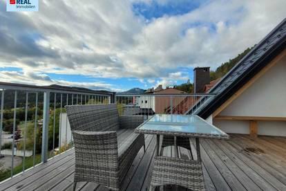 Dachgeschoß-Maisonette im Zentrum von Mariazell mit 15 m² Balkon