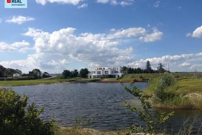 7063 Oggau, Eckgrundstück auch für Bauträger geeignet, mit direktem Zugang zum Neusiedlersee ca. 635 m² - kein Bauzwang!