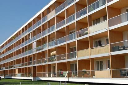 1-Zimmer-Wohnung mit großer Loggia
