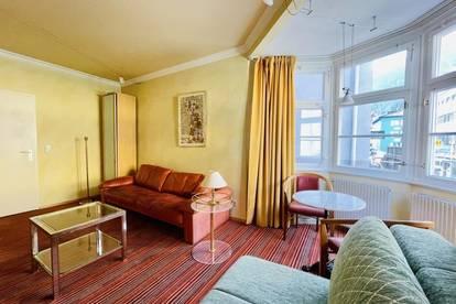 Zentrale Büro- oder Therapieräumlichkeit mit separater/m Wohnmöglichkeit/Zweitbüro...
