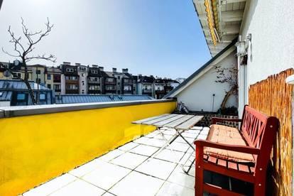 Sonnige Maisonettenwohnung mitten in Innsbruck - mit Dachterrasse!