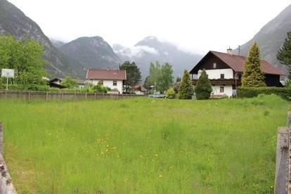 Sonnig und ruhig gelegenes Grundstück in Nassereith...