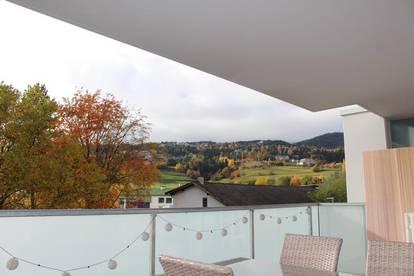 Top gepflegte 3-Zimmer Wohnung mit wunderschönem Ausblick!