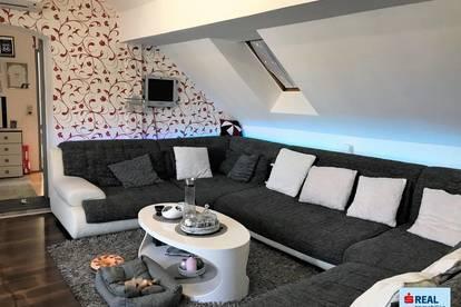 Charmante Wohnung mit Dachterrasse