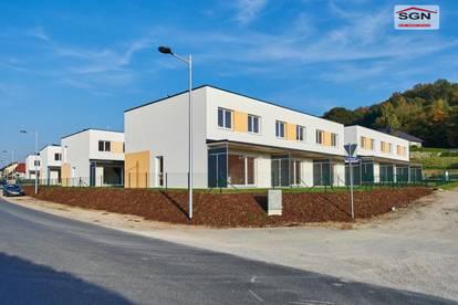 Gefördertes 4-Zimmer Reihenhaus mit Miete-Kaufoption u. 2 PKW-Stellplätze ab August in Wieselburg zu vermieten!
