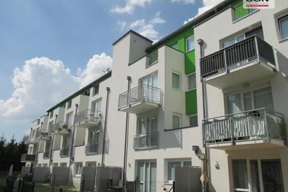 Provisionsfrei: Geförderte 2 -Zimmer Genossenschaftswohnung (Miete-Kaufoption) mit Balkon und KFZ-Abstellplatz zu vermieten!