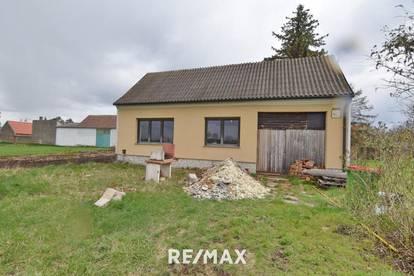Ruhelage in Hohenau: Haus mit neuer E-Installation, neuer Heizungsinstallation und neuen Fenstern zur Fertigstellung