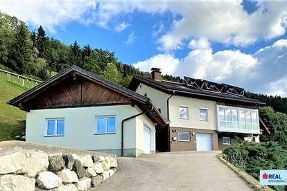 Tolles Wohnhaus mit Panoramablick im mittleren Lavanttal