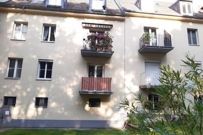 Sonnige 3-Zimmer-Wohnung mit Balkon und Grünblick zu mieten in 1120 Wien