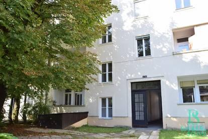 Blick ins Grüne! Zentrumsnahe Loggia-Wohnung - WG geeignet!