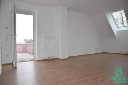 Besonders attraktive 2-Zimmerwohnung mit Balkon - Blick ins Grüne - Ruhelage PROVISIONSFREI