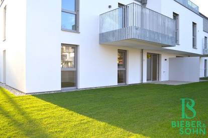 Ein Stück Ruhe und Glück - 3-Zimmer-Gartenwohnung mit Garagenplatz – Erstbezug