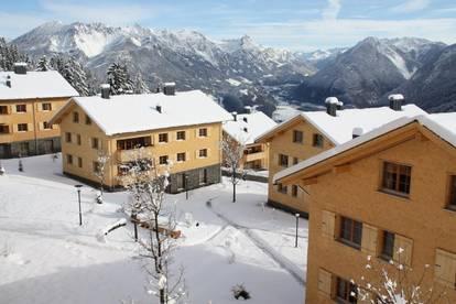 Penthouse-Apartment: Feriendomizil und Investment im sonnigen Brandnertal