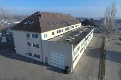 Attraktive Lagerflächen ab 15 m² bis .... m² im Betriebsgebiet in Tulln - Kaplanstraße
