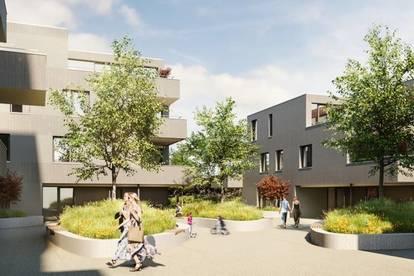 Garten-Wohnung - Neubau Bregenz - Sensationelle 2 Zimmer-Wohnung nicht weit vom Bodensee!