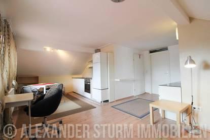 MAXGLAN | Voll möbliertes 2 Zi.-Apartment | BK und Stromkosten inklusive!