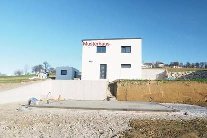 Einfamilienhaus mit fabelhafter Aussicht in Behamberg Musterhausbesichtigung möglich!