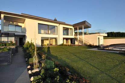 Nobel-VILLA am STEYRer Stadtrand - zeitloser Wohntraum mit unverbaubarem Weitblick