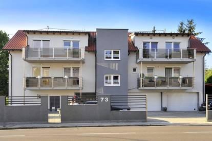 Doppelhausähnliche 142 m² Wohnung mit Garten, Garage, Sommerküche und 4 Balkonen!