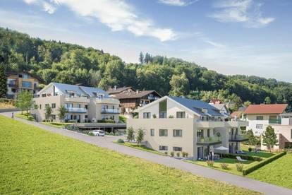 MATTSEE   2 Zi.-Erstbezug Designgartenwohnung in Seenähe