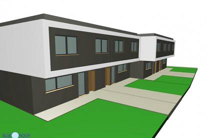Spillern Eckreihenhaus, Bezugsbereit Juli 2021, 5 Zimmer, 163m² Wohnfläche, Garten 173m², Loggia, Terrasse