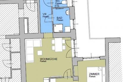 ERSTBEZUG! Moderne 55m²-Zweizimmerwohnung im Zentrum