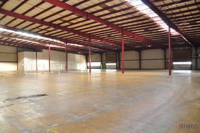Lagerflächen von 1.000m² - 2.000m² mit LKW-Rampen
