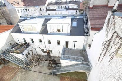 #SQ - 1160 – RUHEOASE IM HOF mit 16m² Terasse - Wohnung mit Townhouse-Charakter!