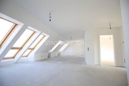 #SQ - 1160 – Lichtdurchflutete DG Wohnung mit 3 Schlafzimmer - BELAGSFERTIG!