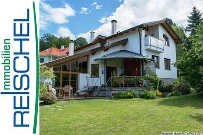 Breitenfurt West - Ein/Zwei Familien Haus mit Schwimmteich und traumhaftem Fernblick